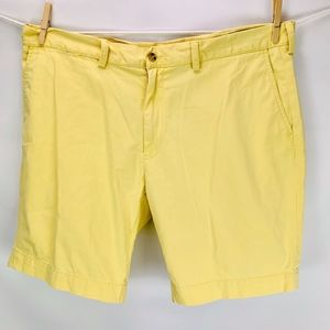 "Polo Ralph Lauren Classic Fit 9"" Shorts Yellow"